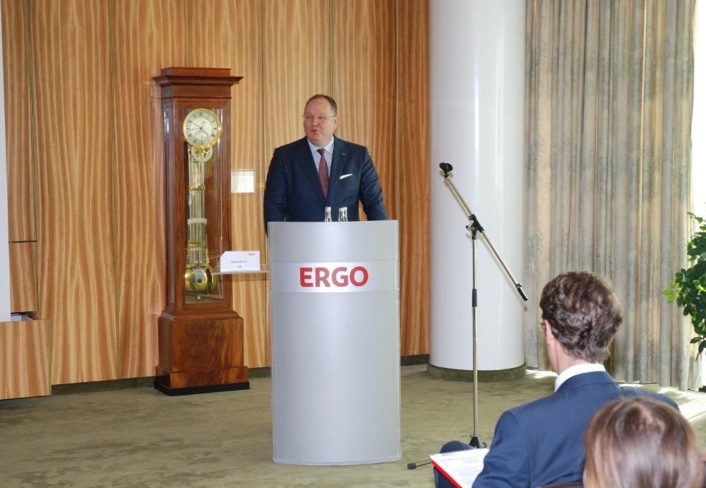 Unternehmensbesuch Bei Der Ergo Versicherung Leo Statz