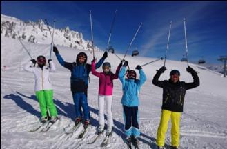 Impressionen der Skiklassenfahrt