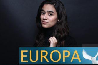 Schulübergreifendes Politikprojekt: Plakatausstellung zur Europawahl eröffnet